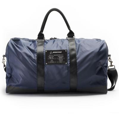 Boeing duffle bag navy back