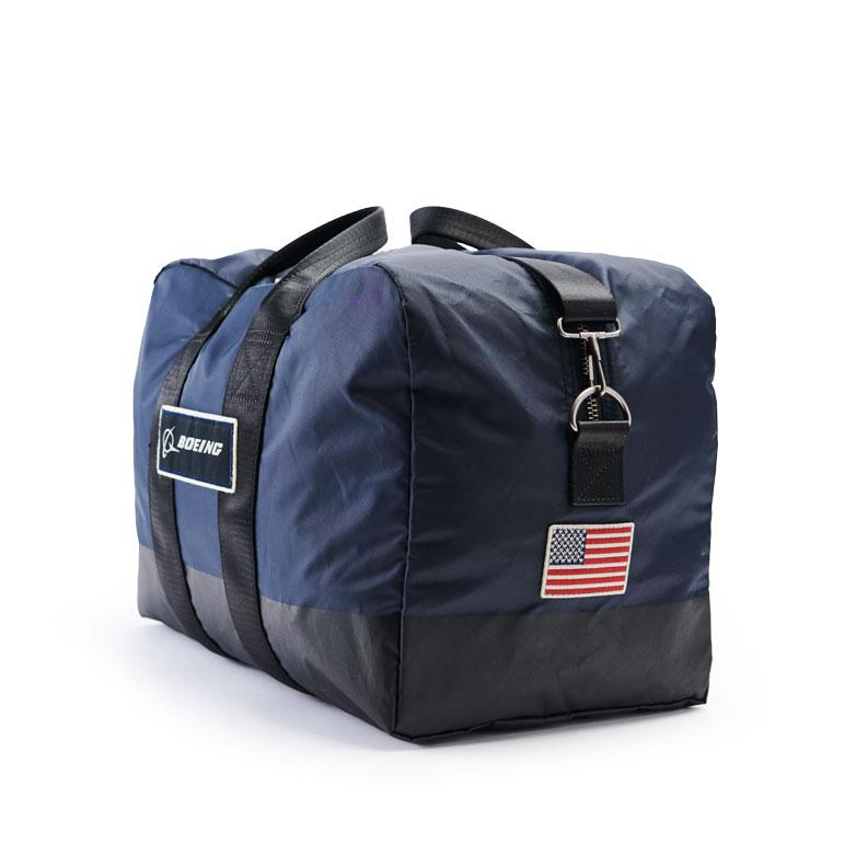 Boeing kit bag navy side