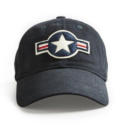Cap us stripe roundel navy