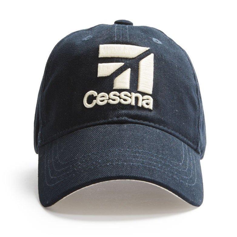 Cessna cap navy front