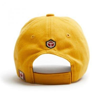 Dehavailland cap yellow back