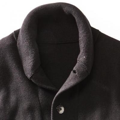 Lancaster cardigan collar 1