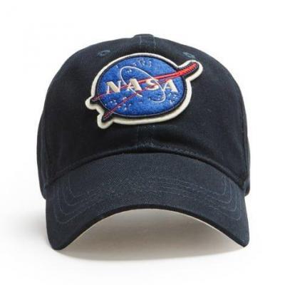 Nasa cap navy front